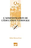 administration de l'éducation nationale (L')