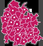 carte des centres